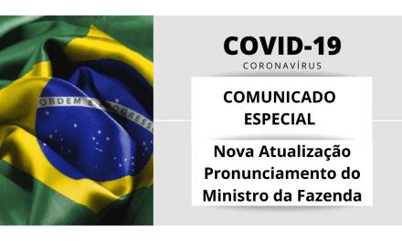 Comunicado Especial ABREME | COVID-19 | Pronunciamento do Ministro da Fazenda