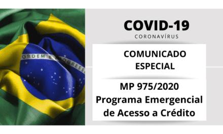 Comunicado Especial ABREME | COVID-19 | MP 975/2020 – Programa Emergencial de Acesso a Crédito