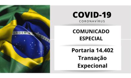 Comunicado Especial ABREME | COVID-19 | Portaria nº 14.402/2020 – Transação Excepcional